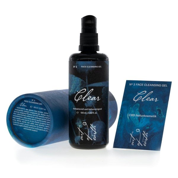 Out of Earth No 3 Clear Face Cleansing Gel